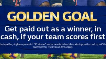 William Hill Golden Goal Promotion