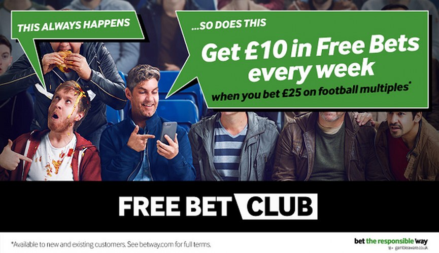 Betway's Free Bet Club