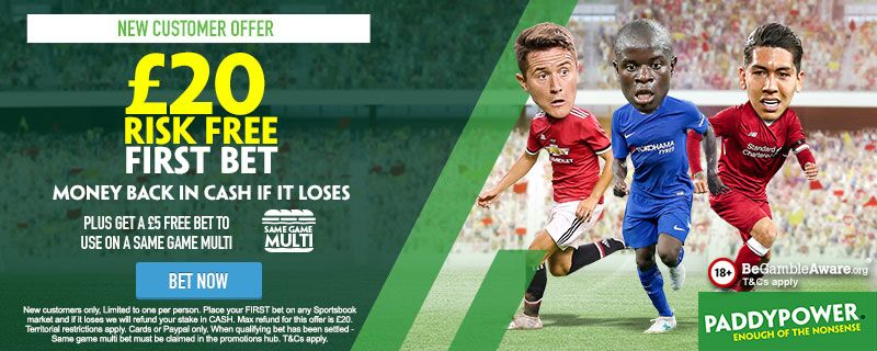 Paddy Power Risk Free Offer