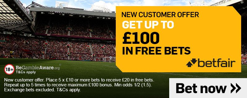 Betfair Horse racing Up To £100 New customer offer
