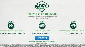Paddy Power Rewards Club – Get Your Rewards Now!